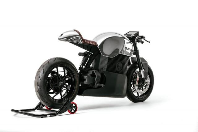 The SAVIC is Australia's first full-size electric motorcycle
