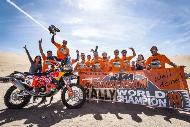 Sam Sunderland - KTM 450 RALLY - 2019 Atacama Rally