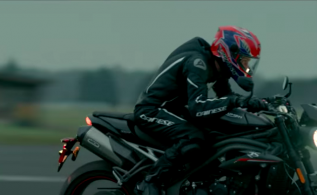 Triumph releases second Speed Triple teaser