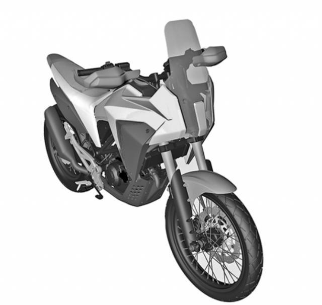 CB125X patent design