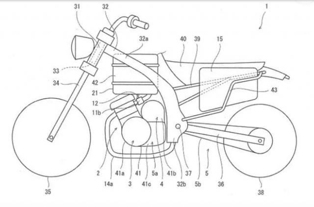 Kawasaki Hybrid motorcycle