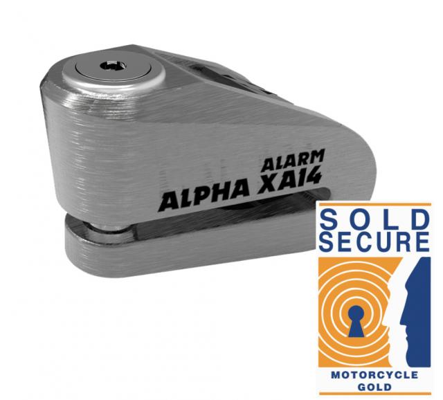 Oxford Alpha XA14 Alarm Disc Lock