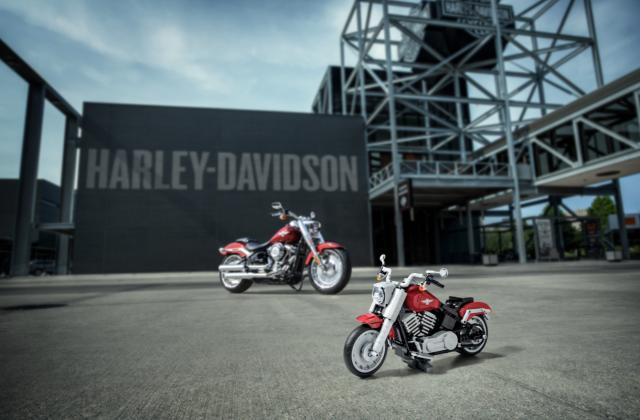 LEGO Harley-Davidson Fat Boy