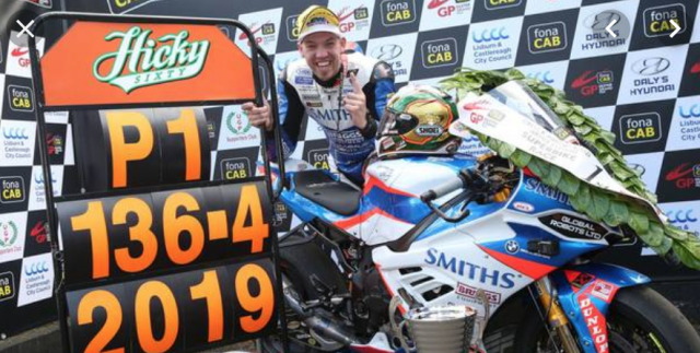 Peter Hickman Ulster Grand Prix