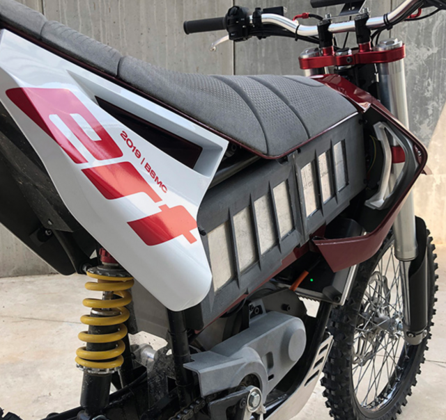 ERT Eray electric motorcycle