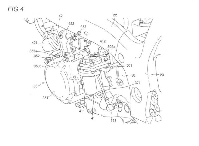 Hayabusa patent older