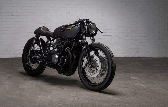 Paal 650XXV cafe racer