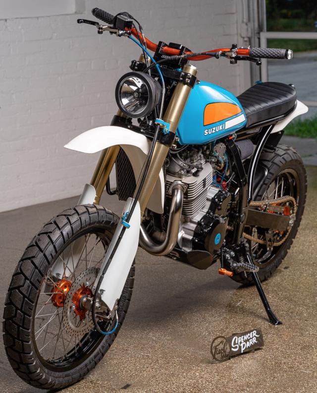 2012 Suzuki DR650 urban-scrambler