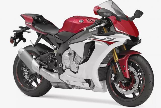 2015-2019 Yamaha R1