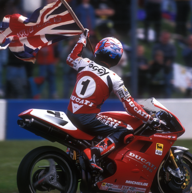 Carl Fogarty - Ducati 916
