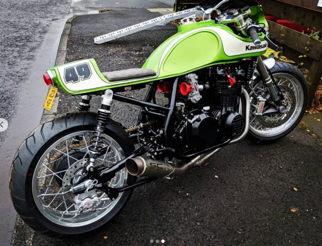 1991 Kawasaki Zephyr 750 | November Motorcycle Customs