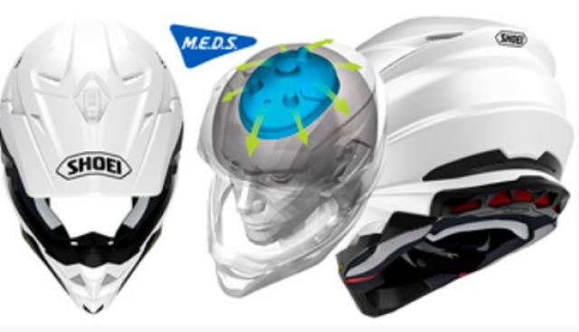 Shoei VFX-WR motorcycle helmet