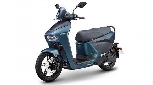 Yamaha EC05 electric scooter
