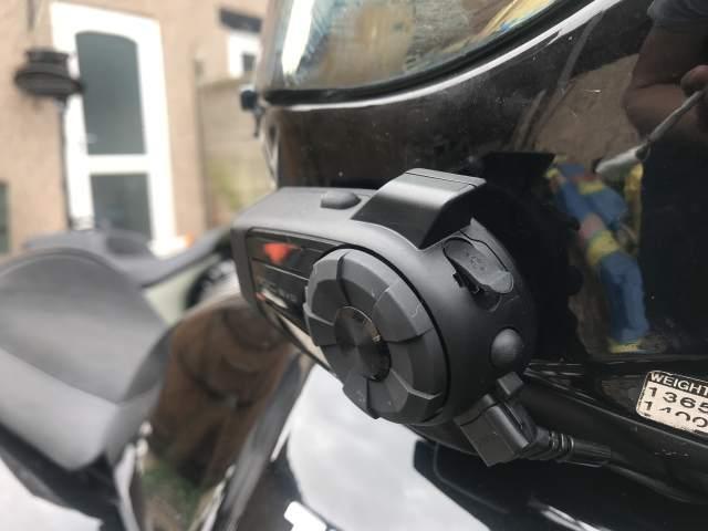 Sena 10C Evo bluetooth headset Visordown review