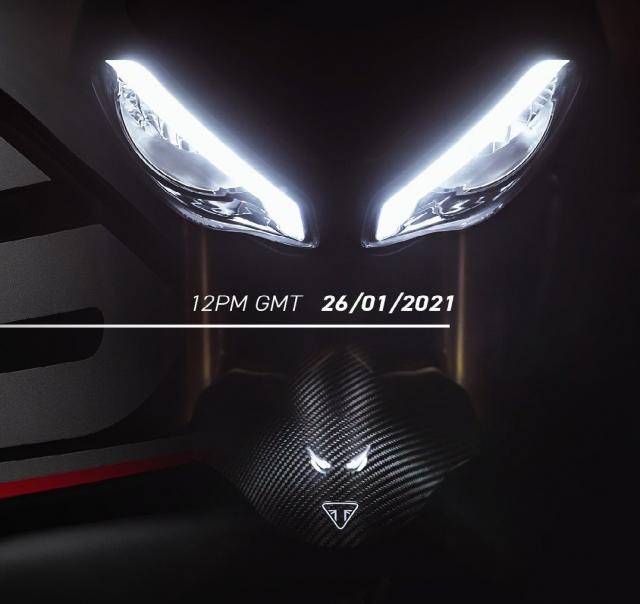Speed Triple 1200 RS teaser