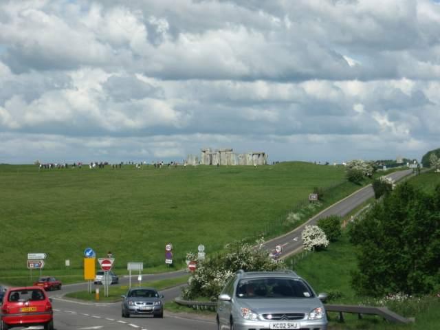 Stonehenge from road