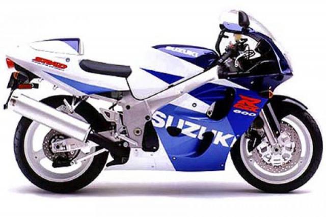 Suzuki GSX-R600 SRAD