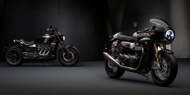 Triumph TFC Thruxton and Rocket