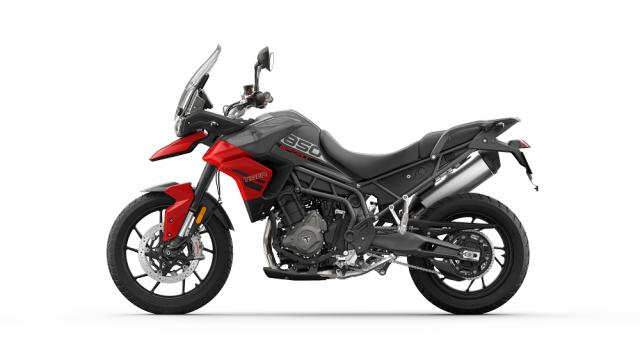 Tiger 850 Sport - Graphite and Diablo Red