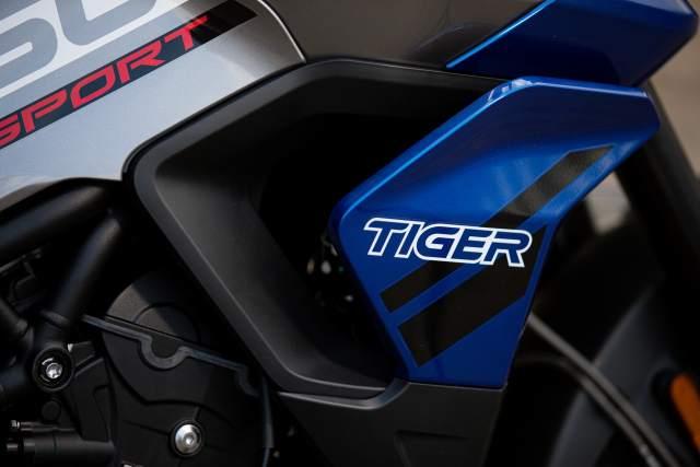 Tiger 850 Sport - Twin Radiators