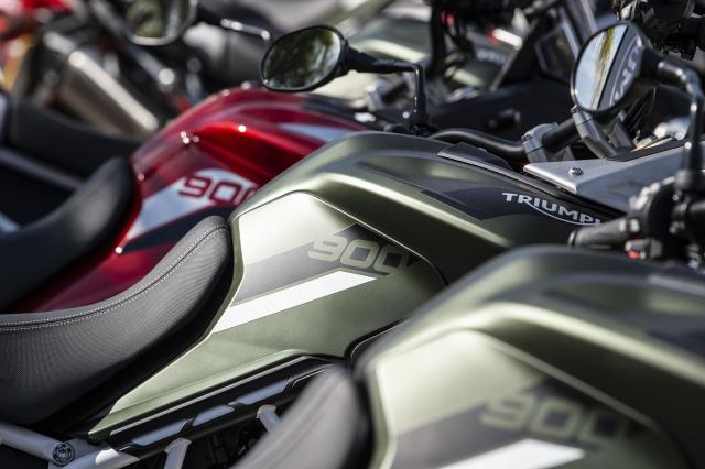 Tiger 900 Rally and GT tanks