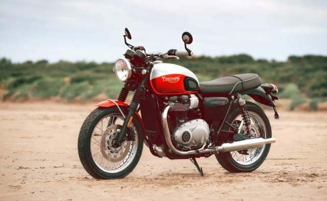 Triumph Bud Ekins Bonneville T100 Special Editions