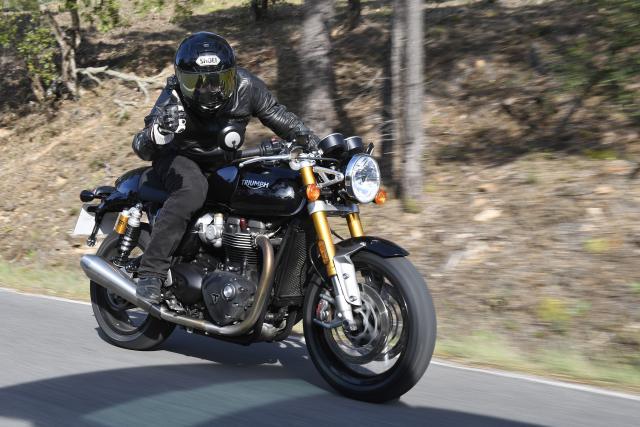Triumph Thruxton RS Visordown Review