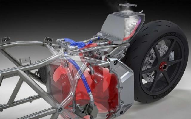 Voxan Biaggi electric motorcyle record