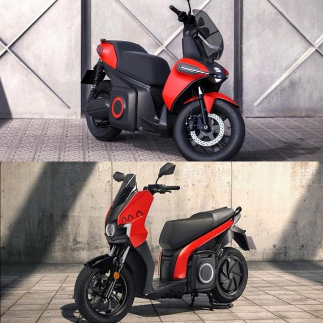 SEAT MO eScooter 125 vs Concept versiion