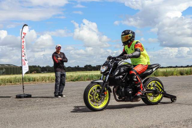 Yamaha Extreme Wheelie School review