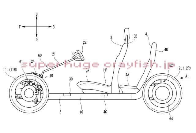 Yamaha Leaning four wheeler