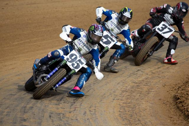 Yamaha MT-07 flat track motorcycle