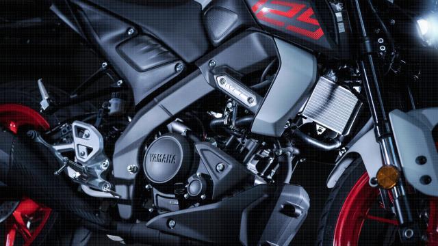 Yamaha MT-125 engine