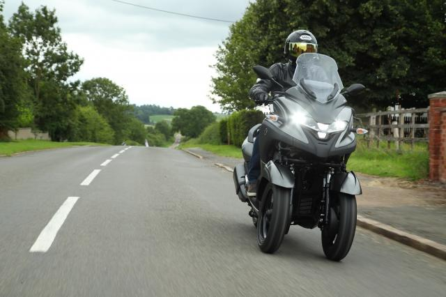 Yamaha Tricity 300 Visordown Review