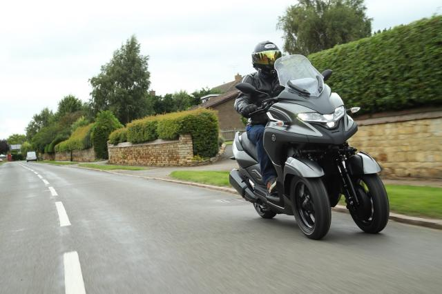 Yamaha Tricity 300 Visordown Review