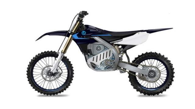 Yamaha electric motocross motorcycle