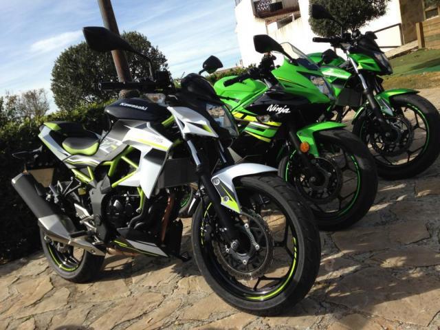 Z125 and Ninja 125