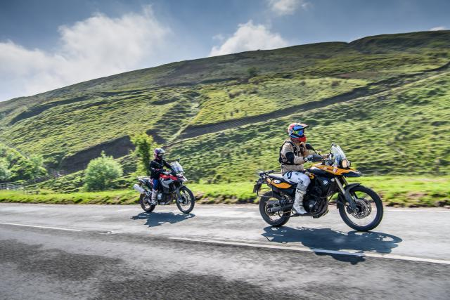 Chasing sheep and victory at the BMW GS Challenge