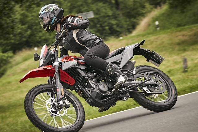 17 again... Riding Aprilia's new RX125