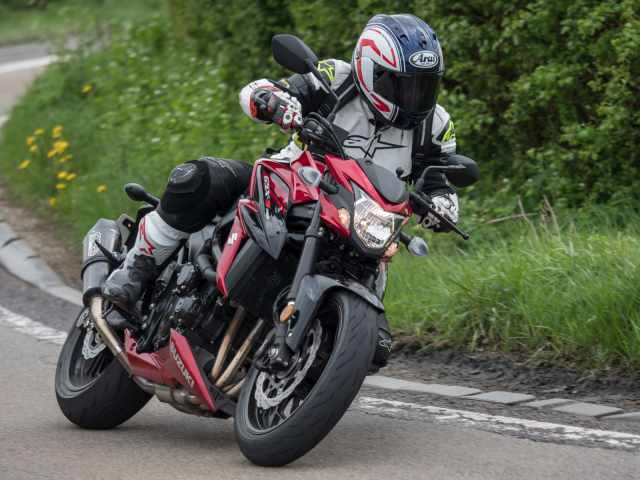 Big test: 790 Duke vs Street Triple 765 vs GSX-S750