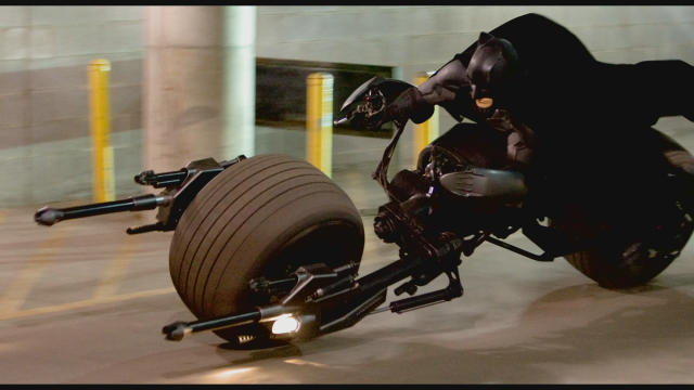 Batman batpod batcycle