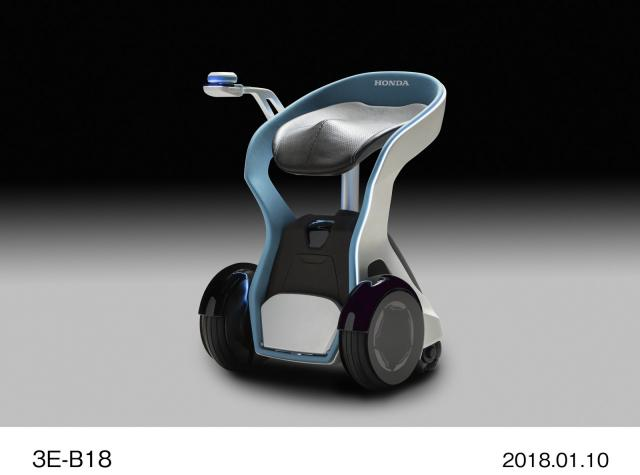 Honda reveals electric scooter with standardised battery