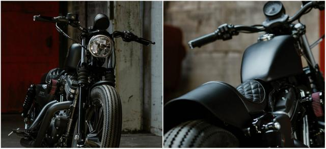 Check out this one-off 'Muttified' Iron 883