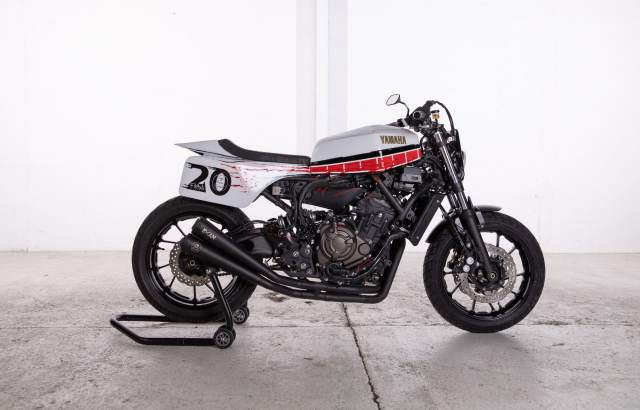 2020 Yamaha XSR700 Red Tail