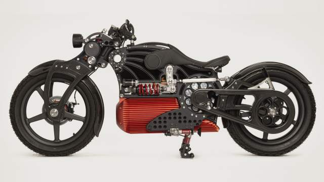 Curtiss Motorcycles The One electric bike