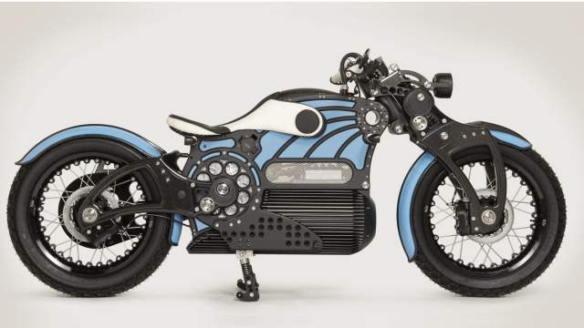 electric cruiser the one curtiss motorcycles