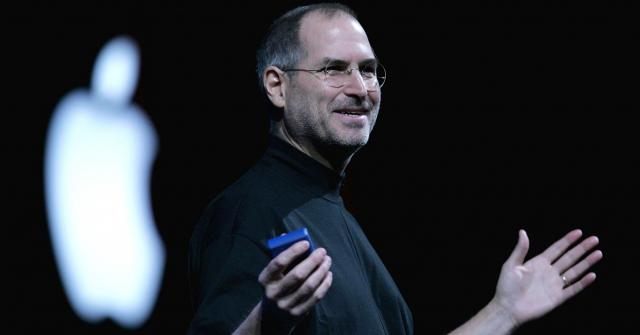 Once upon a time, long before the iPhone, Steve Jobs rode a cool bike