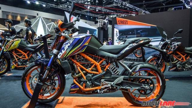 Thai KTM Duke 250 special edition