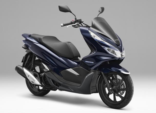 Honda Hybrid PCX scooter