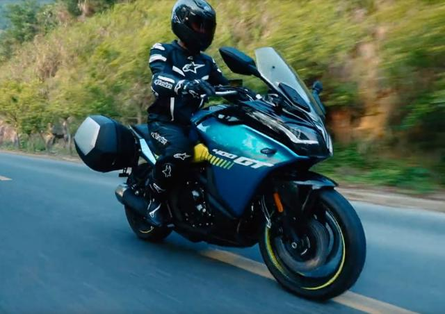 New CFMoto 400GT sporty touring thing
